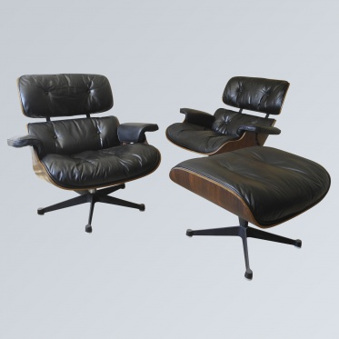 Luc allemand mobilier design 50 60 70 for Mobilier charles eames